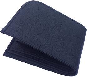 Men Casual Black Genuine Leather Wallet