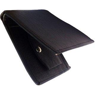 Men Black Leather Wallet