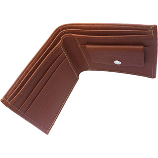Mens Stylish Tan Leather Wallet
