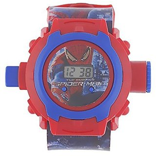Spider Man Projector Watch