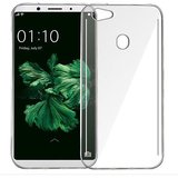 Oppo F5 Jelly Back Case Silicon Cover Transparent Clear -Jamddic