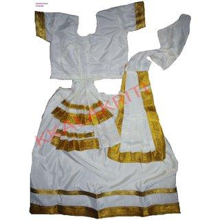 Mohiniattam Classical Dance Fancy Dress Costume
