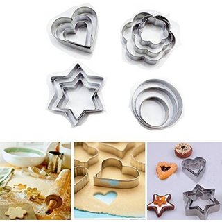 AVMART Stainless Steel Biscuits Bread Cookies decoration Cutter