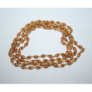 only4you Rudrani Golden Cap Mala 108+1 Breads