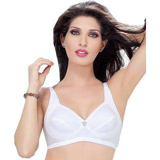 fcb762877c Buy Trylo Jaya 2pc White Bra 38(B) Online   ₹520 from ShopClues