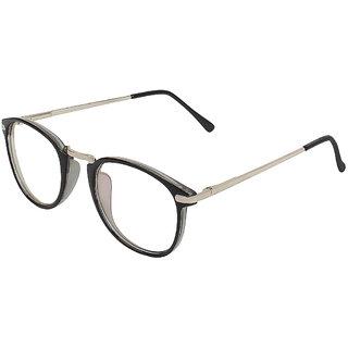 Zyaden Black Round Eyewear Frame 417
