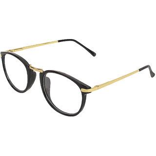 Zyaden Black Round Eyewear Frame 419