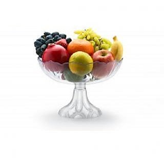 Rewa Kitchen Storage Transparent Fruit Basket and Vegetable Basket With Folding Stand