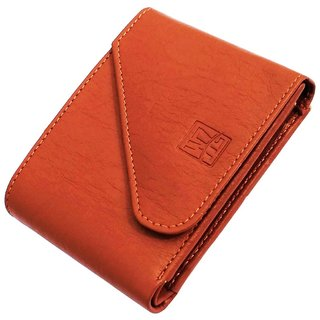 Wenzest Tan Mens Wallet with 3 cards pockets