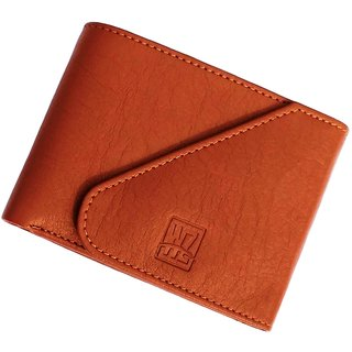 Wenzest Tan Mens Wallet with 3 card pockets