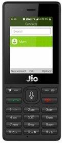 Reliance Jio Phone (Single Sim, 2.4 Inch Display, 2000 Mah Battery, Black)