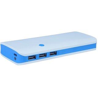 OMNITEX p3 with 3 usb port 10000 mah power bank (white, blue)
