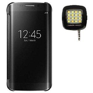 Samsung Galaxy C9 Pro Flip Cover by YGS - Black