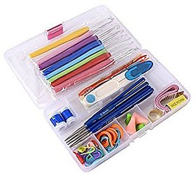 SYGA Needle Arts Crochet Set Knitting Craft Weaving Plastic Yarn Sewing Tools