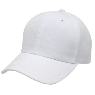 Mens White Color Stylish Caps