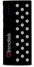 Innotek - IK-01 - 13000mAH Power Bank - Black-with Six Months Warranty