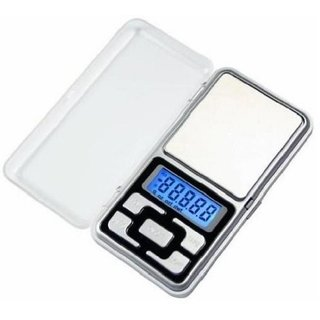 IBS Digital Electronic Pocket Scale For Weight Kitchen Jewellery Weighing Scale (Color-Silver)