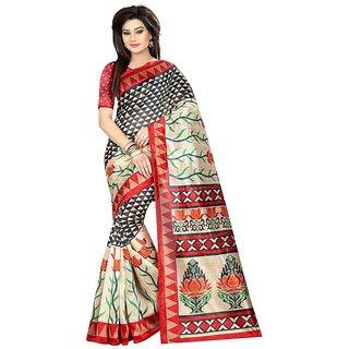 Rite Creations Multicoloured Color Art silk  Saree -RI125_S_Lychi_Diamond1