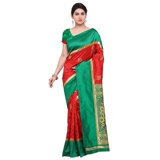 Rite Creations Red  Color Cotton Silk   Saree -RI138_S_Picanol