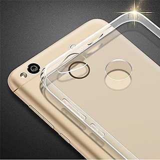 Redmi 4 Back Cover Transparent Soft Silicone Back Case Cover for Redmi4
