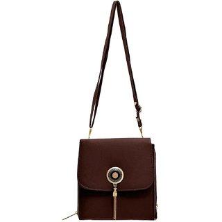 Anamika Latest TrendZ Sling Bag-Brown