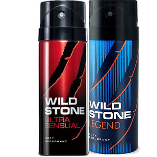 NEW Wild Stone Legend+ultra Body Deodorant Spray - For Men  (150 ml)