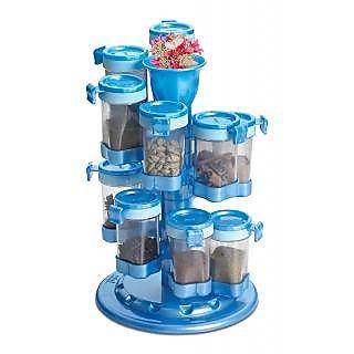 Buy Masala Rack Masala Box Spice Reck 12 Jar Revolving Spice