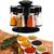 Revolving Spice Rack and Masala Rack, Plastic Box 8-Jars