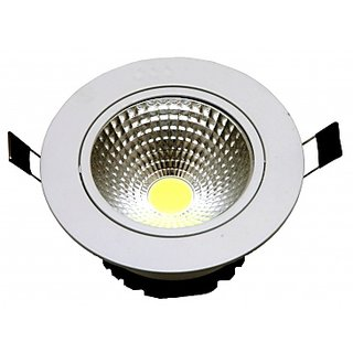 Snap Light 6W LED Spot COB Ceiling Down light (White)