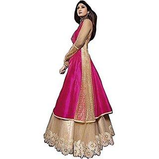 Khusboo Designer'S World Stylish Wedding Designer Bottom Gown