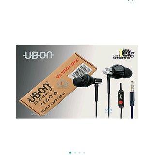 Big Daddy Bass Powerful Audio Earphone / Headphone with Mic 3.5 MM Jack UBON UB1085 - CHAMP