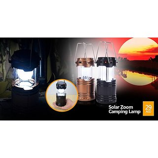 4 in 1 Emergency Solar/Rechargeable 6-9 W Led Light with Torch And USB