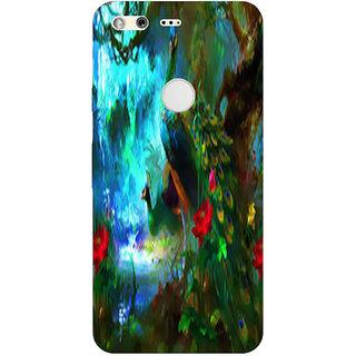 Printgasm Google Pixel XL printed back hard cover/case,  Matte finish, premium 3D printed, designer case