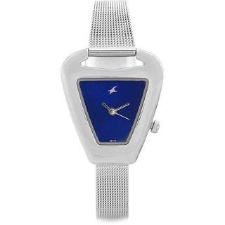 Fastrack Quartz Blue Other Women Watch 6102SM02