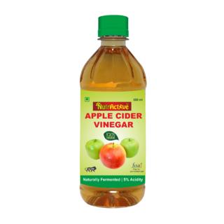NutrActive Filtered Apple Cider Vinegar  Natural Vinegar - 500 ml