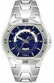 Timex Round Dial Silver Metal Strap Quartz Watch For Me