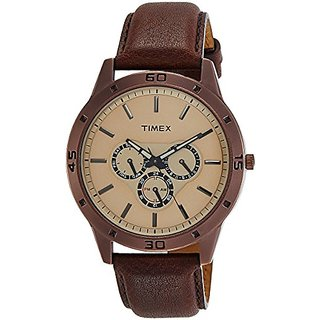 Timex Analog Brown Dial Mens Watch-TW000U915