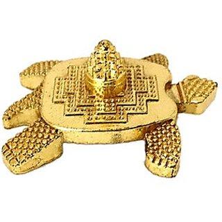 Astro guruji Feng Shui Metal Turtle With laxmi yantra Tortoise for good wealth home decor