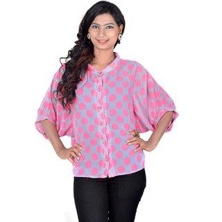 Vivaa Stylish Printed Ladies Shirt VGS-02