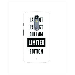 Printgasm Motorola Moto X Play printed back hard cover/case,  Matte finish, premium 3D printed, designer case