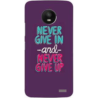 Printgasm Motorola Moto E4 printed back hard cover/case,  Matte finish, premium 3D printed, designer case