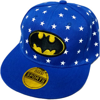 FRIENDSKART Batman Light Blue Hip Hop Regular Cap