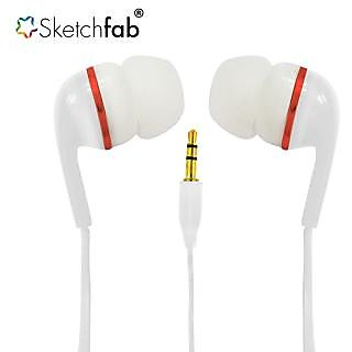 Earphone Without Mic Compatible With All 3 mm jack - Assorted Color