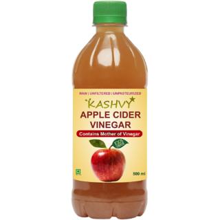 Kashvy Apple Cider Vinegar with Mother of Vinegr - (500 ml)