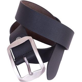 Fashionvillage Belt for men and boy Leather belt belt Blackbelt Pu leather Belt for men free size belt belts for men slim belt F (Synthetic leather/Rexine)
