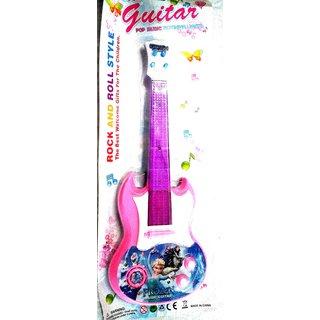 FROZEN  Plastic Music  Light Guitar (Size- 39 cm x 4 cm x 15 cm)
