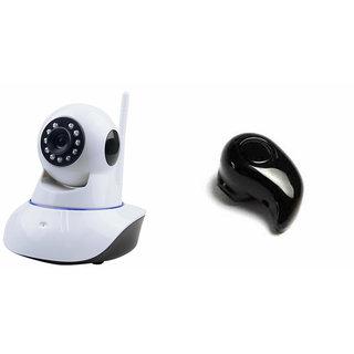 Zemini Wifi CCTV Camera and Kaju Bluetooth Headset for LG wine smart  (2015)(Wifi CCTV Camera with night vision |Kaju Bluetooth Headset With Mic )