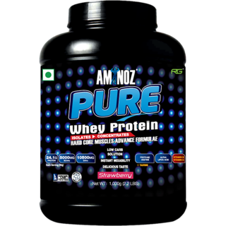 Aminoz Pure Whey Protein 2.2Lbs Strawberry
