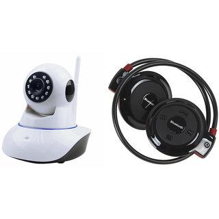 Zemini Wifi CCTV Camera and Mini 503 Bluetooth Headset for HTC ONE PRIME CAMERA EDITION(Wifi CCTV Camera with night vision  Mini 503 Bluetooth Headset  )