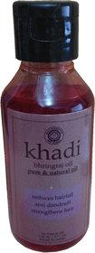 khadi bhringraj pure  natural oil110ml